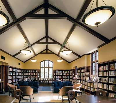 restored front reading room