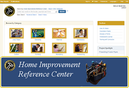Search Home Improvement Reference Center